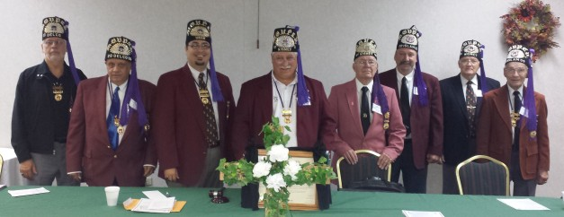 The 2013 - 2014 Officers of the PA Grotto Association
